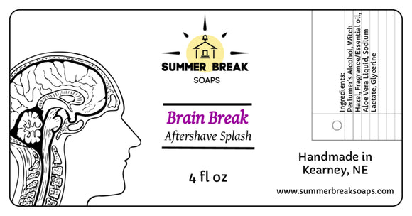 Brain Break Aftershave (Original Formula)