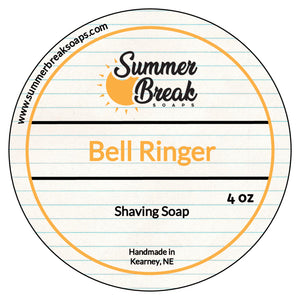 Bell Ringer Shaving Soap (New Base)