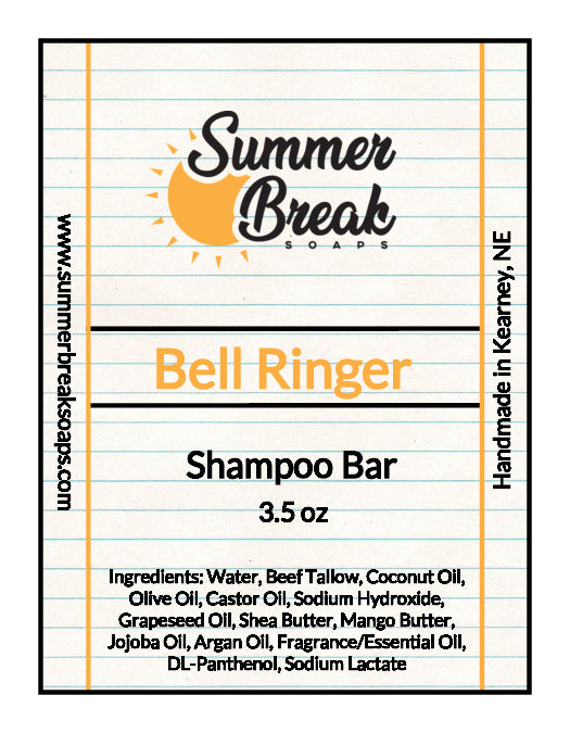 Bell Ringer Shampoo Bar (Available May 10th)
