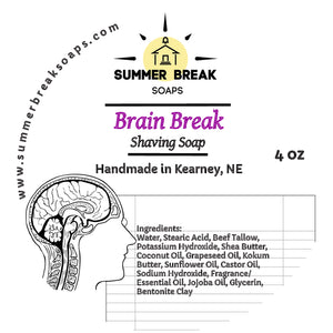 Brain Break Shaving Soap