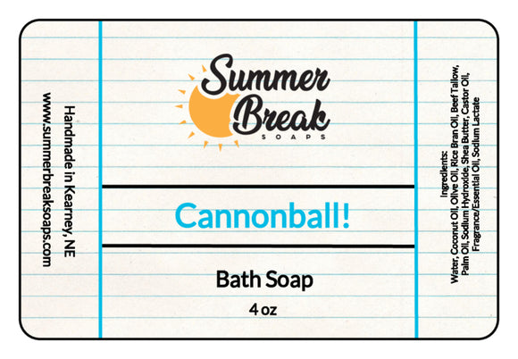 Cannonball! Bath Soap