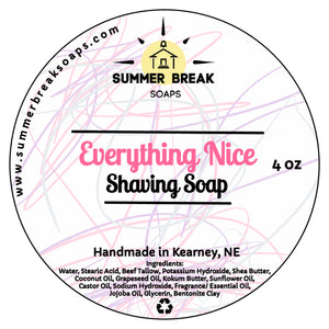 Everything Nice Shaving Soap