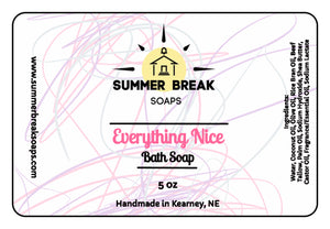 Everything Nice Bath Soap