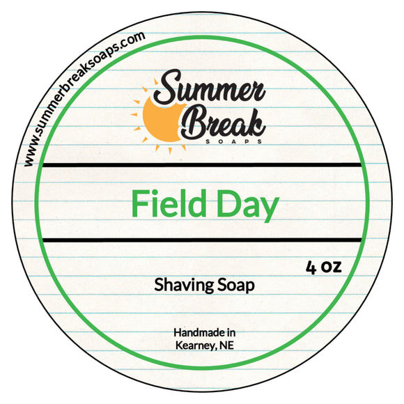 Field Day Shaving Soap (New Base)