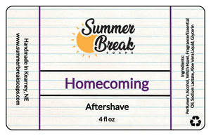 Homecoming Aftershave (New Formula)