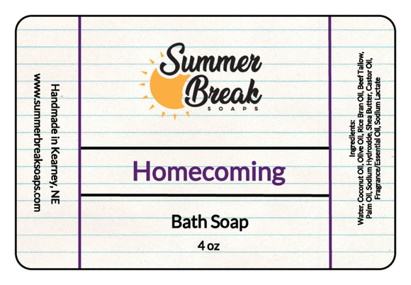 Homecoming Bath Soap