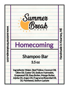 Homecoming Shampoo Bar