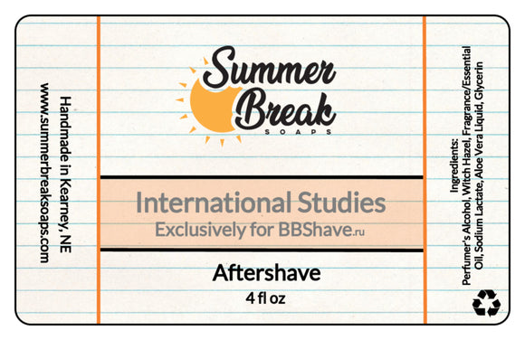 International Studies Aftershave (Available 3/31)