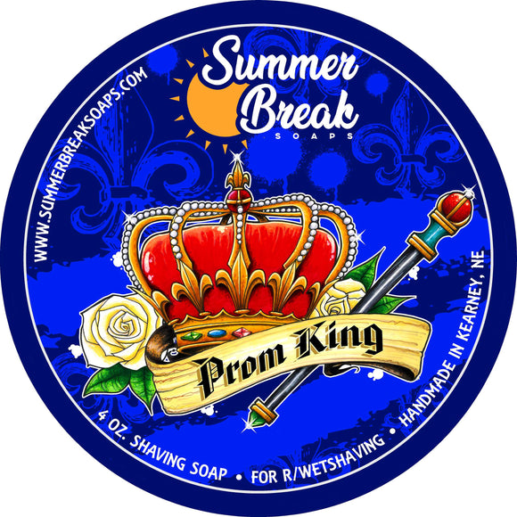 Prom King Shaving Soap for r/wetshaving