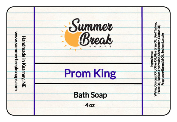 Prom King Bath Soap for r/wetshaving (Restock coming soon)