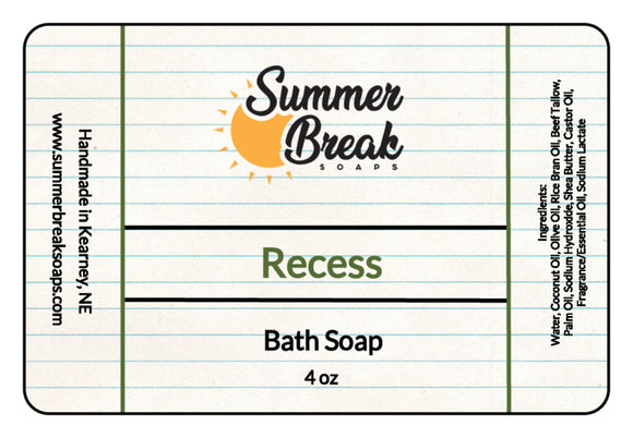 Recess Bath Soap