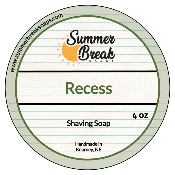 Recess Shaving Soap