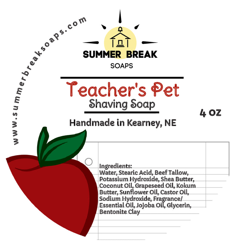 Teacher's Pet Shaving Soap
