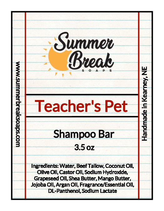 Teacher's Pet Shampoo Bar