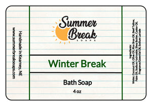 Winter Break Bath Soap
