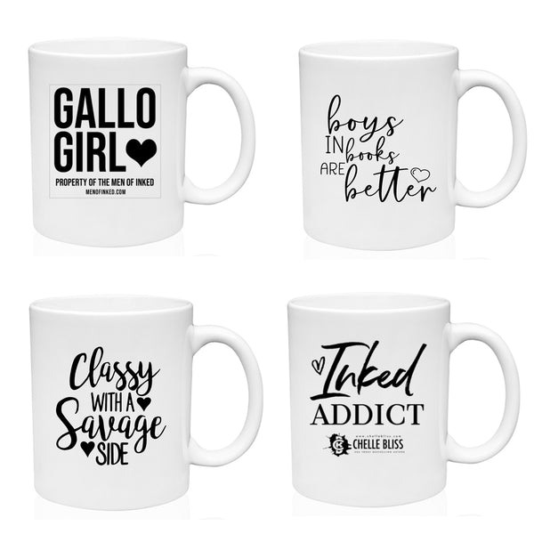 Coffee Mug - 4 Designs