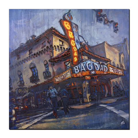 The Bagdad, Gallery Wrapped Canvas Prints