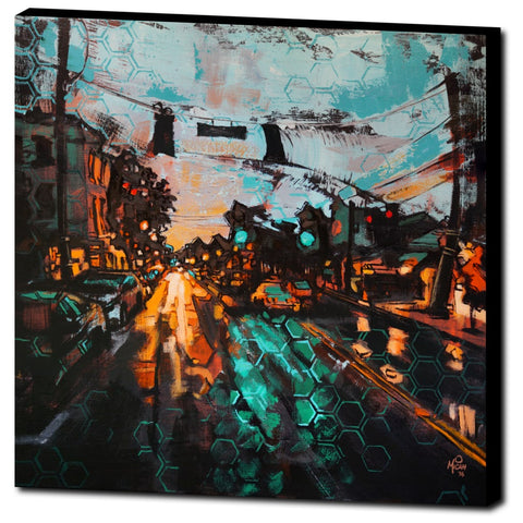 October Night, Gallery Wrapped Canvas Prints