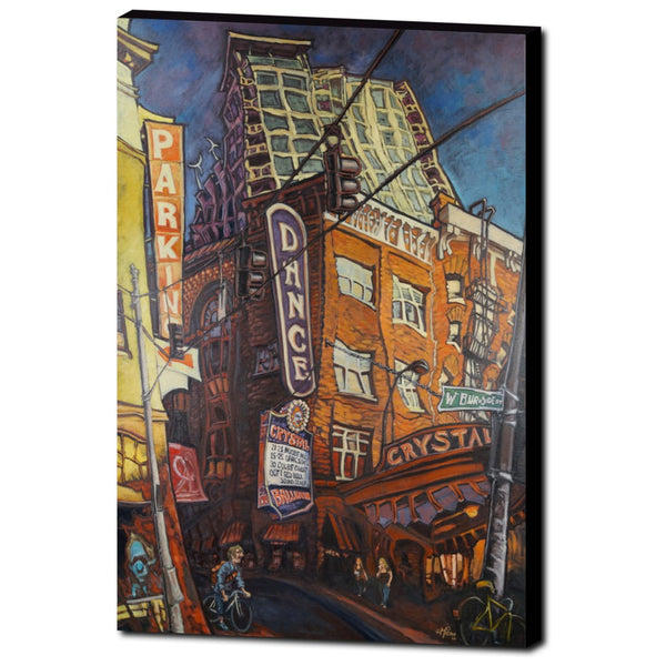 Crystal Ballroom, Gallery Wrapped Canvas Prints