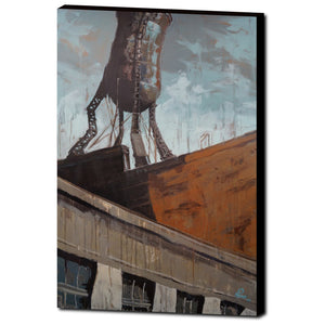 Burnside Water Tower, Gallery Wrapped Canvas Prints