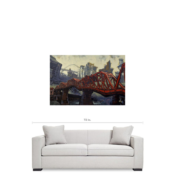 The Broadway, Gallery Wrapped Canvas Prints