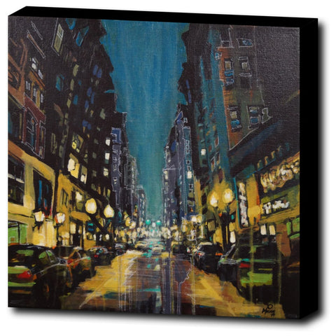 Downtown PDX, Gallery Wrapped Canvas Prints