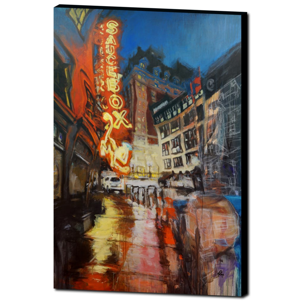 Saucebox, Gallery Wrapped Canvas Prints
