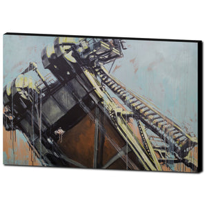 Hawthorne Bridge 5, Gallery Wrapped Canvas Prints