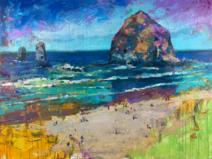 Cannon Beach, Gallery Wrapped Canvas Prints