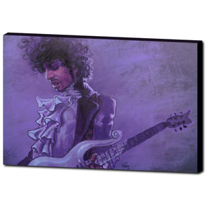 Purple Rain, Gallery Wrapped Canvas Prints