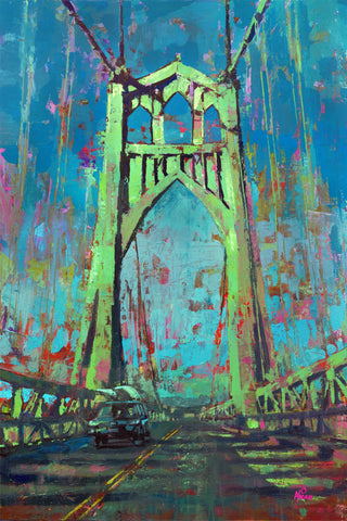 Gateway to St. Johns, Gallery Wrapped Canvas Prints