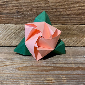 Modular Origami Magic Rose Cube Folding Instructions | 300x300