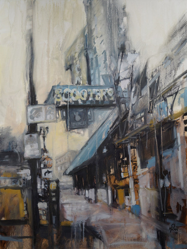 Original Portland Cityscape paintings