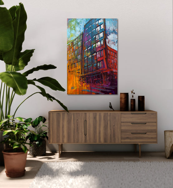 The Emery, Gallery Wrapped  Canvas Prints