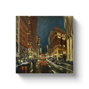 Downtown Broadway and Stark, Gallery wrapped canvas prints