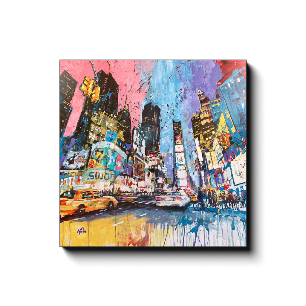 Times Square Gallery Wrapped Canvas Prints