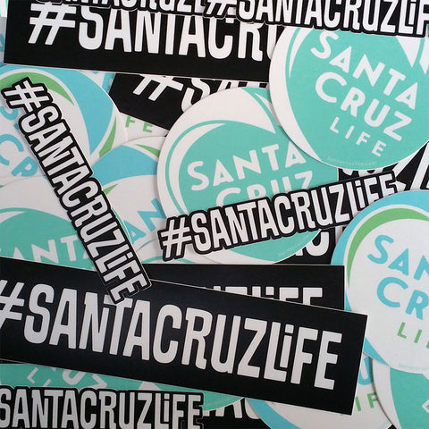 Santa Cruz Stickers