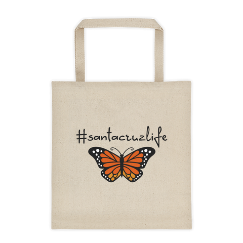 #santacruzlife Monarch Canvas Tote