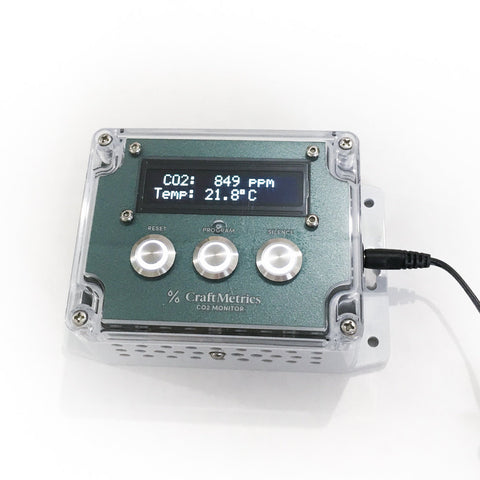 CO2 Monitor & Alarm