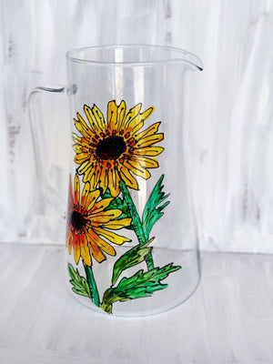 Summer Sunflower Pitcher