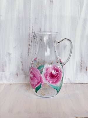 Blush Rose Pitcher .5 QT