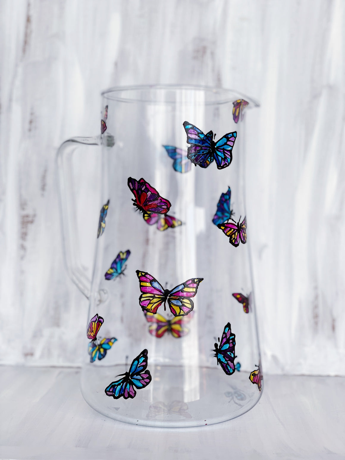 Dancing Butterfly Pitcher