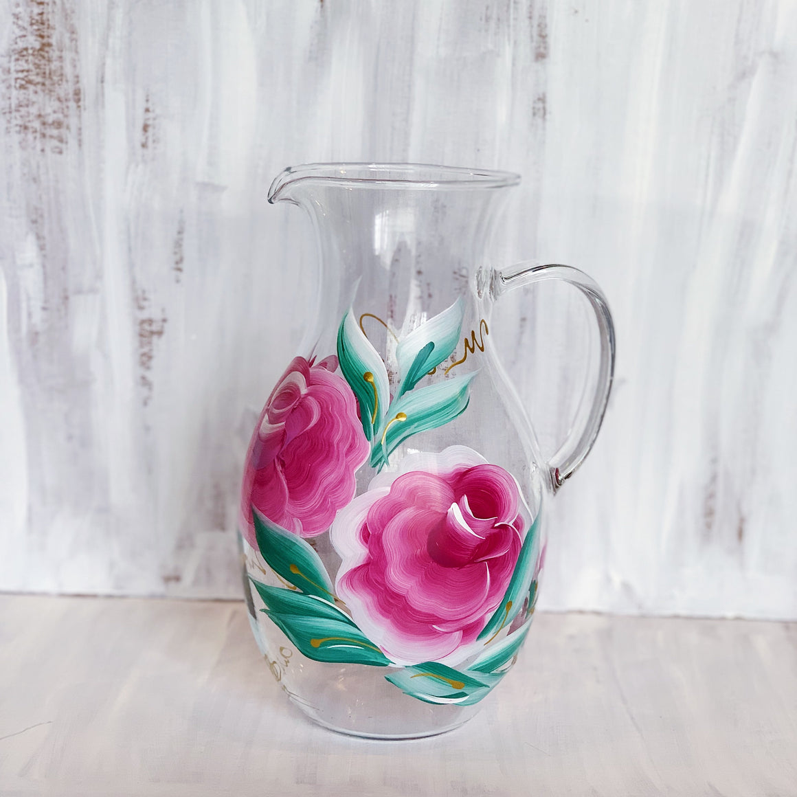 Blush Rose Pitcher 1.5 QT