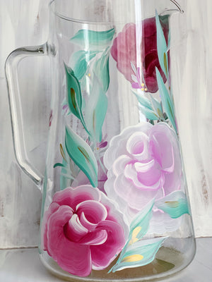 Blush Rose Pitcher