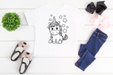 Coloring T-Shirt Kit-GIRLS KIT
