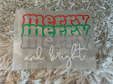 Merry Merry & Bright Press & Go
