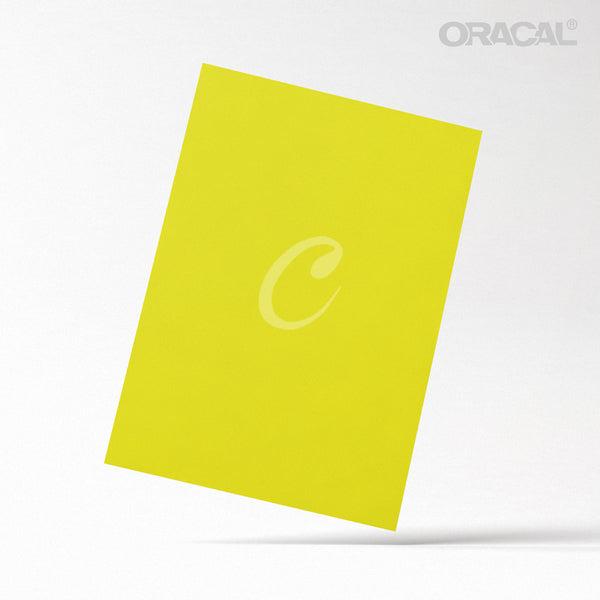 Oracal Yellow Brimstone