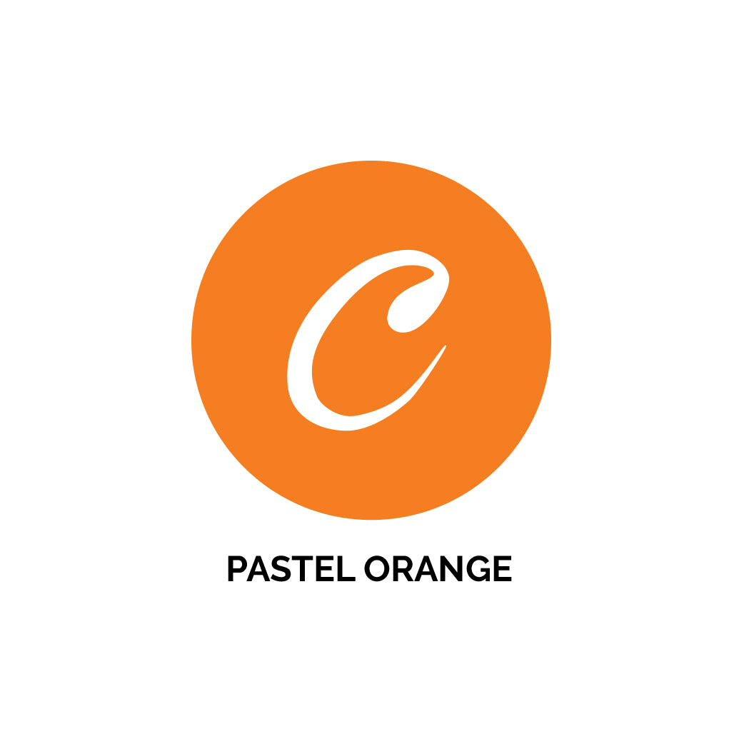 Oracal Orange Pastel