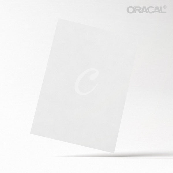 Oracal White Matte
