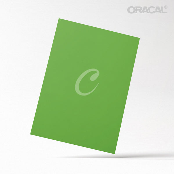 Oracal Green Yellow